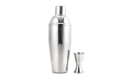 Stainless Steel Professional Bartender Cocktail Shaker Kit with Mixer 40904b34-553e-4528-ad9d-093154f6043b