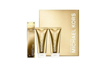 24K Brilliant Gold 3 Pcs Gift Set By Michael Kors For Women d703464b-334f-493e-8f82-4a654ea8e7ff
