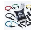 Resistance Band Set with Door Anchor, Ankle Strap and Carrying Case
