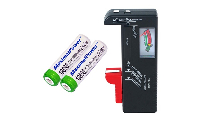 Digital LCD  AAA AA PP3 6F22 Alkaline 9V Battery Tester