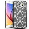 Insten Black Lace Hard Rubberized Cover Case For Samsung Galaxy S6