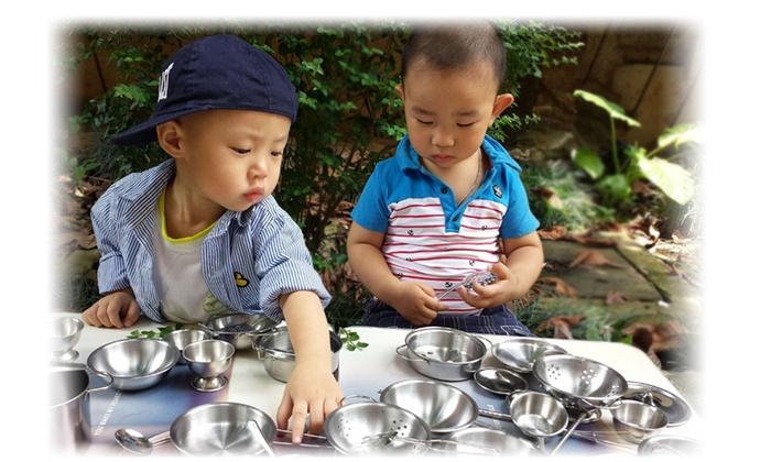 16Pcs Set Kids Play House Kitchen Toys Stainless Steel Utensils Pot Cookware Set