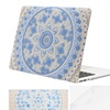 Mosiso Plastic Pattern Hard Case with Keyboard Cover for MacBook
