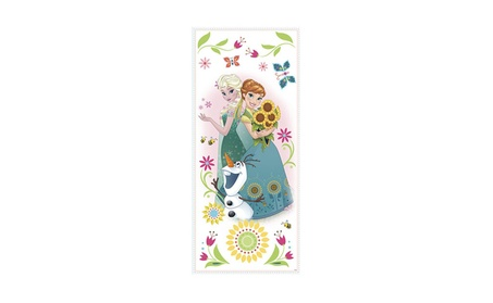 Roommates Decor Disney Frozen Fever Group Giant Wall Graphics f95e8e7d-0b6c-484a-8d82-c362fe65af00