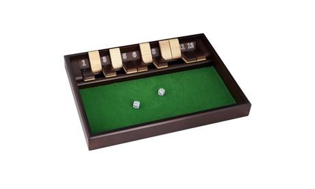 Shut The Box Game - 12 Numbers - Includes Dice 6c1b4f9e-283a-47f2-99c3-605cffb8206c