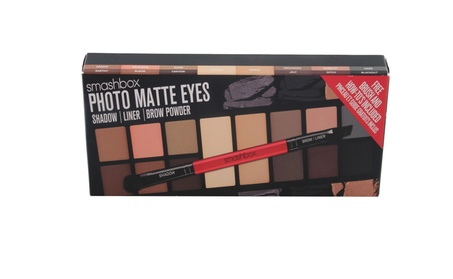 SMASHBOX Photo Matte Eyes Shadow Palette With Brush New In Box eda17c54-2e85-40d8-bba6-342adeb870cb