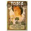 Leopoldo Metlicovitz Tosca Canvas Print