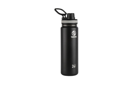 Good Life Gear SF1005 BRZ 16 oz. Thermal Hot-Cold Bottle With Black Ca 5fdb2449-d514-4dd0-9805-20cb0880dae6