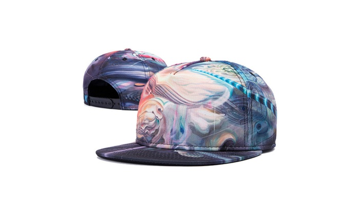 WUKE Snapback Harajuku Baseball Cap Funny Pattern 3D Printed hat