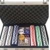 300 Chips Poker Dice Chip Set Texas Hold'em Cards Aluminum Case