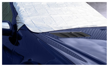 Evelots 1 Or 2 Car Windshield Covers For Winter Snow Removal, Fits All 34efec6c-9570-476b-9652-ec3cbc85c454