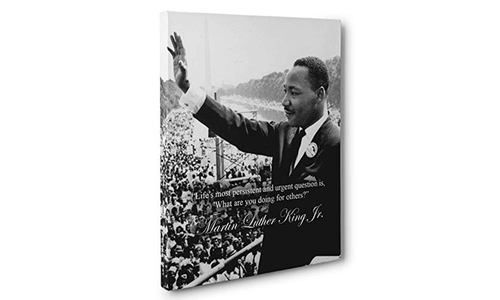 Help Others Out Martin Luther King Jr Quote Canvas Wall Art Groupon