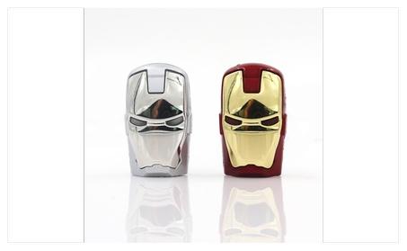 Iron Man Light Up USB Pendrive. - Iron Man b2816507-39ea-4e4d-ba2c-2d4d1450c1fe