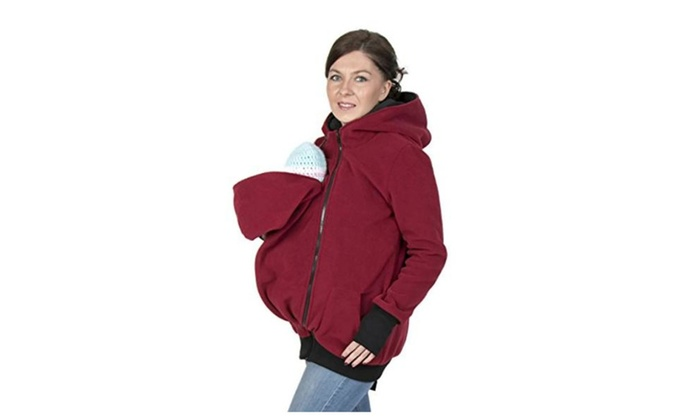 df26871b1 3in1 Maternity Polar Warm Fleece Hoodie