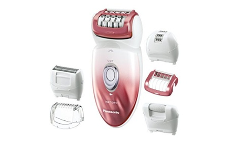 Panasonic ES-ED90-P Wet/Dry Epilator and Shaver, with Six Attachments ac644377-119a-4b82-a455-91634474f8c5