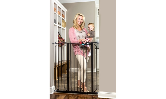 Up To 41 Off On Regalo Extra Tall Baby Gate Groupon Goods