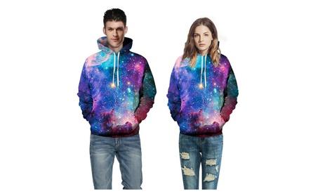 Unisex Digital Print Sweatshirts Hooded Top Galaxy Pattern Hoodie 82a730bb-211a-4f45-8c96-0452566f0bc6