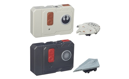 Star Wars Millennium Falcon and Star Destroyer RC Micro Machines Set 40724ed6-d554-4729-bc8d-d0bc7c52150c