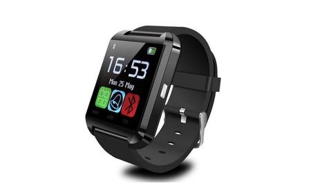 New Stylish Touch Screen Bluetooth Smart Watch Black 4a115a8d-fc08-46f5-b13b-972b8298a4c3
