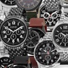 Holiday Blowout August Steiner Multi-Function And Chronograph Watches