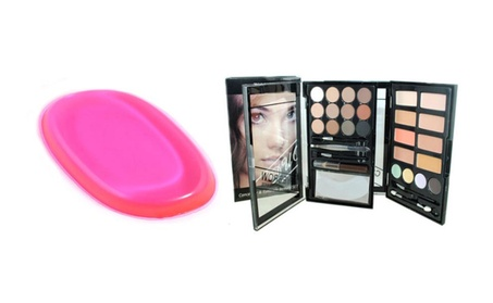 Concealer & Eyebrow Duo Makeup Kit & Free Silicone Sponge For Makeup 6bd2e730-4063-45a8-930b-8445865b9981