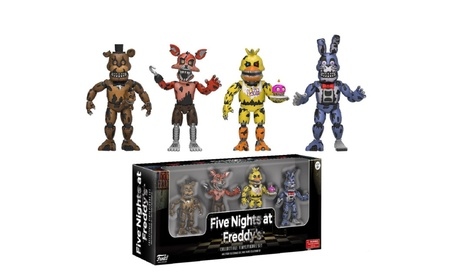 Five Nights at Freddy's Nightmare Edition Vinyl Figures, 2 in, 4 pack 0e1a0df3-088b-4f04-94f8-1106ce38325e