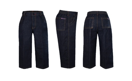 Infant Toddler Baby Boys Cotton Denim Jeans with Pockets 12Months-4T