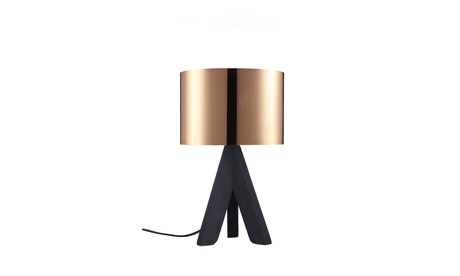 Euro Style Collection Askos 12 Inch Wood Legs Mini Table Lamp photo