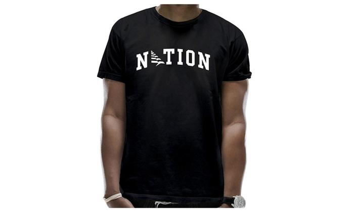 73382851 Men's RocNation Logo Jay Z T-Shirts | Groupon