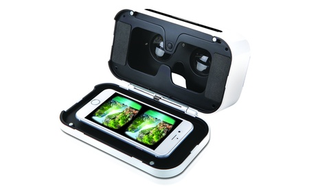 Sharper Image Virtual Reality Smartphone Viewer 8d57bb34-f470-4bec-8c45-5e25dd76deca