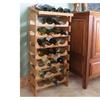 Wooden Mallet 18 Bottle Dakota Wine Rack