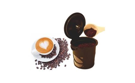 6 Pcs Reusable Refillable Coffee Espresso Tea Pods K Cup 3c726669-1185-462f-9d75-4d7918cad963