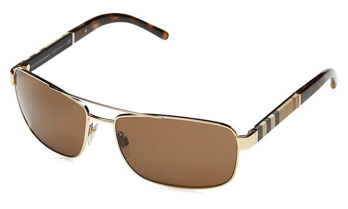 63952f36c7f6 Burberry Sunglasses BE 3074 100387 Gunmetal 63mm | Groupon
