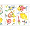 Roommates Sea Creatures Peel And Stick Wall Decals