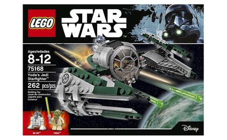 LEGO Star Wars Yoda's Jedi Starfighter 75168 Building Kit (262 Pieces) dc505897-7657-4576-8f96-e1cdf16584ea