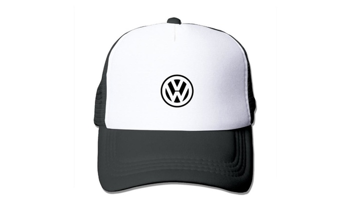 Volkswagen VW Logo Baseball Cap Hats Black