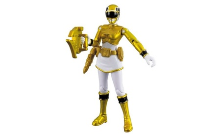Power Rangers Megaforce Metallic Force Yellow Ranger 042e6367-0db7-40c9-82a1-bc11e63a6dde