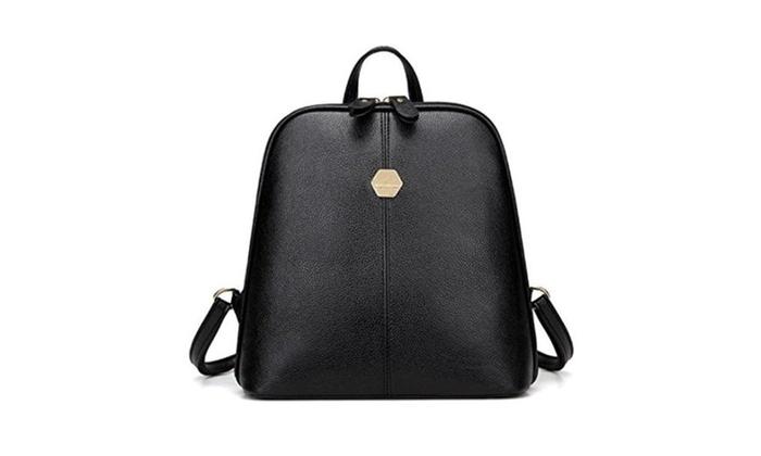 Womens Handbag School Rucksack Backpack Ladies Tote Shoulder Bags