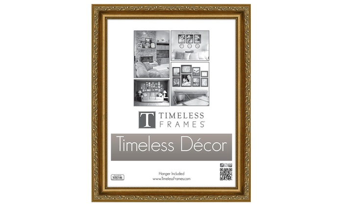 Timeless Frames 78212 Carrington Gold Wall Frame, 8 x 10 in. | Groupon