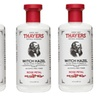 Thayers Rose Petal Witch Hazel 12 OZ. PK/3 + Tweezer Blackhead Remover