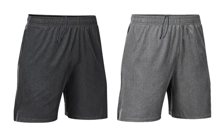 Men's Shorts Workout Running Shorts Quick Dry Lightweight Gym Shorts w/ Pockets