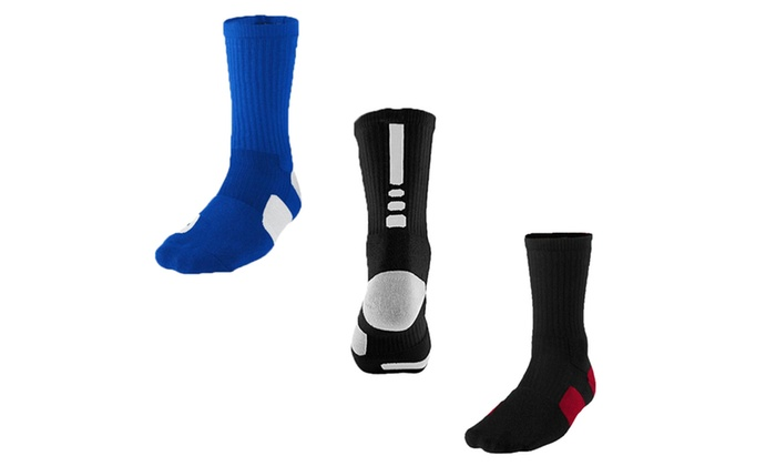 Cool-Dri Moisture Wicking Athletic Compression Socks (2-Pack)