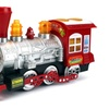 Locomotive Engine Car Bubble Blowing Bump & Go Battery Operated Toy