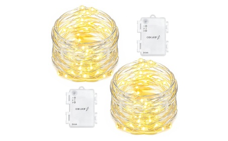 Led Fairy Starry Light Silver Wire Decorative Rope Lights cf9d2327-e230-422d-831d-9dadd8dcb781