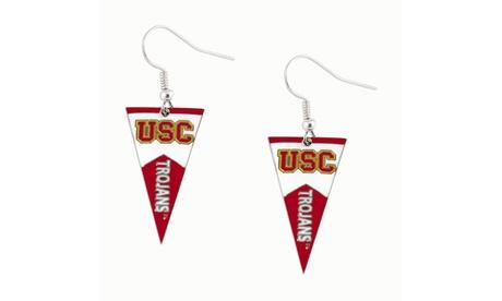 USC Trojans NCAA Pennant Dangle Earring 14da9fea-0cdf-42c0-bfb6-e0e312398089