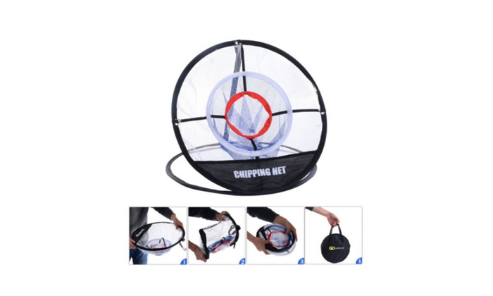 New Portable Golf Training Net Hitting Aid Practice In Outdoor Bag