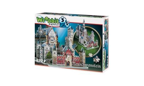 Neuschwanstein Castle 3D Puzzle: 890 Pcs 4b849b4a-0a3b-4474-9ca6-155919fe1022