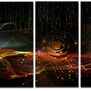 Composition of Elements - Contemporary Art Metal Wall Art