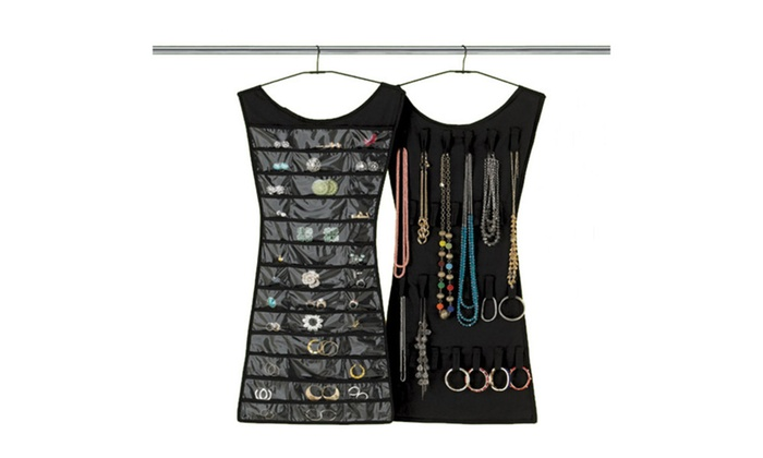 Stylish Way to Storage Jewelry Little Black Dress Jewelry Organizer