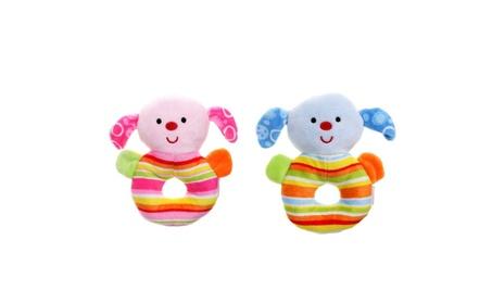 Cute Dog Soft Plush Baby Rattle 48ce4864-2033-4af8-a492-ae87f5377b3c